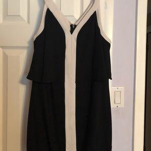 MACYS Bar III Black/white dress